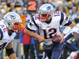 Jones spielt gut, doch Brady ist Brady