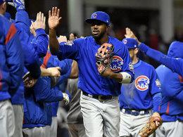 Alles im Lot: Dexter Fowler und die Cubs glichen in der World Series aus.