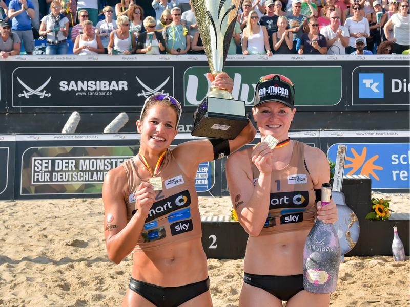 Laura Ludwig und Kira Walkenhorst scheitern bei Beachvolleyball-DM