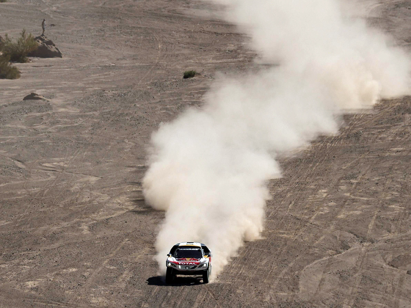 Rallye: Franzose Peterhansel vor 13. Dakar-Gesamtsieg
