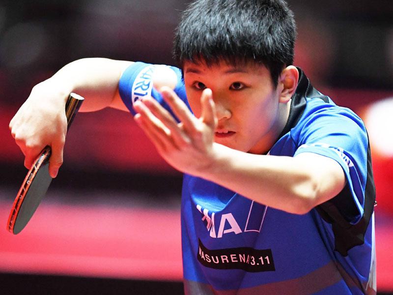 Tischtennis-WM: 13-Jähriger schockt Weltranglistensechsten Tomokazu Mizutani
