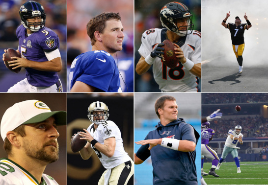 Die NFL-Quarterbacks 2015