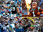 Die Stars der Carolina Panthers