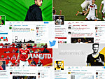 Die Twitter-Channels von Özil, Kroos, Schweinsteiger und Reus