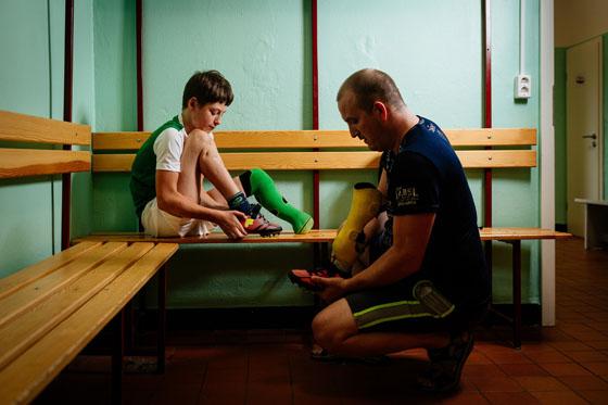Steve Bauerschmidt - Vater und Sohn