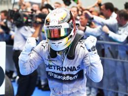 Vorjahressieger: Mercedes-Pilot Lewis Hamilton legte 2014 in Malaysia den Grundstein zum WM-Titel.