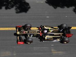 Glimpflich davongekommen: Lotus-Renault-Pilot Vitaly Petrov hatte einen schweren Unfall in Monaco.