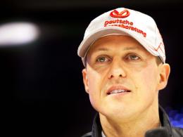 """Ist nach 2012 Schluss? Diese Frage """"kann ich jetzt nicht genau beantworten"""", sagt Mercedes-Pilot Michael Schumacher."""