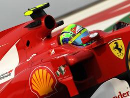 Bestzeit: Ferrari-Pilot Felipe Massa war Schnellster am ersten Trainingstag in Indien.