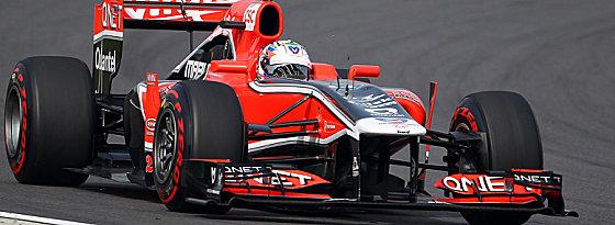 Heute Virgin, 2012 Marussia: Timo Glocks Rennstall ändert den Namen.
