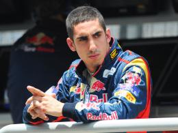 """Bleibt ein """"Roter Bulle"""": Ex-Toro-Rosso-Pilot Sebastian Buemi wird Test- und Ersatzfahrer im Schwesterteam Red Bull Racing."""
