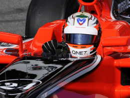 Kämpferisch: Marussia-Pilot Timo Glock.