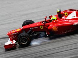 Verbremst: Ferrari-Pilot Felipe Massa gerät immer stärker in die Kritik.