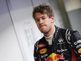 Erst bitter enttäuscht, dann verhöhnt: Weltmeister Sebastian Vettel.