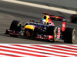 WM-Spitzenreiter: Red-Bull-Pilot Sebastian Vettel testet in Mugello.