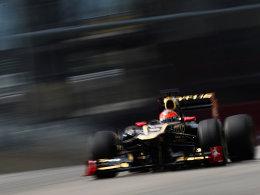 Raste der Konkurrenz davon: Romain Grosjean war bei den Testfahrten in Mugello der Schnellste.