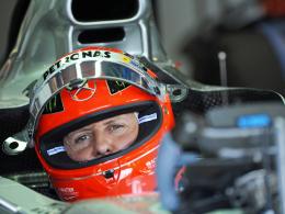 Quo vadis, Michael Schumacher? Der Rekordweltmeister sitzt in Brasilien letztmals im Mercedes-Cockpit.