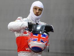 Strafversetzung: McLaren-Pilot Jenson Button verliert in Japan fünf Startplätze.