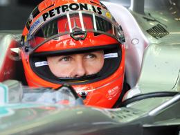 Erfolgreichster Formel-1-Pilot aller Zeiten: Michael Schumacher.