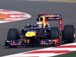 Eine Klasse für sich: Weltmeister Sebastian Vettel überzeugte im Red Bull.