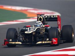 Vertrag verlängert: Kimi Räikkönen bleibt 2013 bei Lotus.