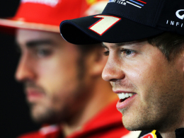 Alonso gr��t Vettel mit dem Gewehr
