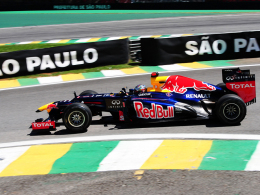 Er ist und bleibt dreimaliger Weltmeister: Red-Bull-Pilot Sebastian Vettel.