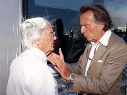Gesprächsbedarf: Formel-1-Boss Bernie Ecclestone (li.) und Ferrari-Präsident Luca di Montezemolo.