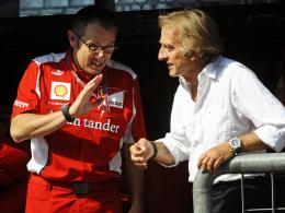 Angriffslustig: Ferrari-Teamchef Stefano Domenicali (li.) und Präsident Luca di Montezemolo.
