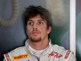 Vom Test- zum Stammfahrer: Luiz Razia fährt in der kommenden Saison für Marussia.