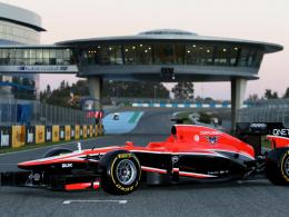 Gut genug für die ersten WM-Punkte? Marussia präsentierte in Jerez den MR02.