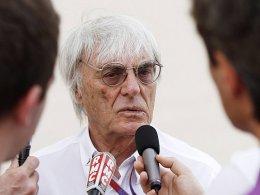 Erste kritische Stimmen durch den F1-Boss: Bernie Ecclestone schrieb an Oppositionelle in Bahrain.