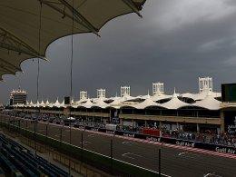 Ruhe vor dem Sturm: Die Formel 1 ist in Bahrain zu Gast.