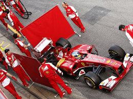 Auch Ferrari darf weiter nur dreimal testen.