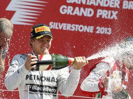 Möglicherweise zu früh gefreut: Nico Rosberg.