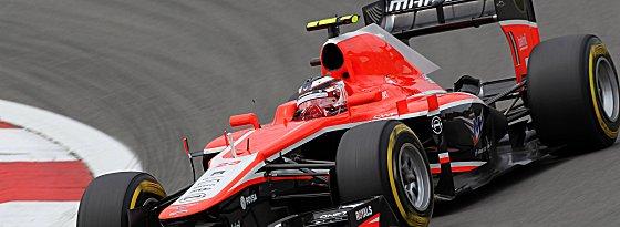 Max Chilton im Marussia-Boliden.