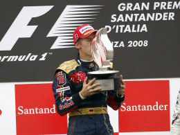 Beste Erinnerungen an Monza: 2008 wurde Sebastian Vettel dort zum jüngsten F1-Sieger.