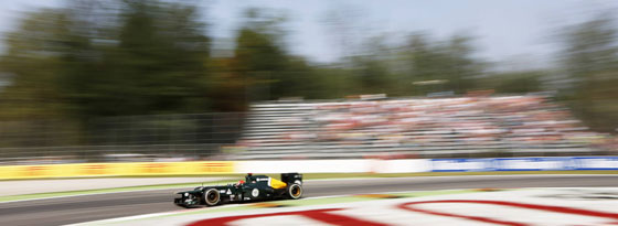 Heikki Kovalainen 2012 in Monza