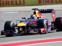 Setzt weiter auf Renault-Motoren: Red Bull mit Weltmeister Sebastian Vettel.