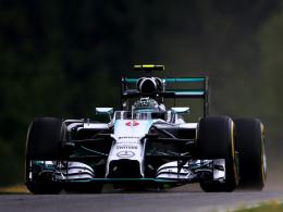 Auch in Spielberg Schnellster: Mercedes-Pilot Nico Rosberg.