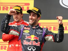 """""""Nicht nur der netteste, sondern einer der Besten"""": Red-Bull-Pilot Daniel Ricciardo erntet viel Lob."""