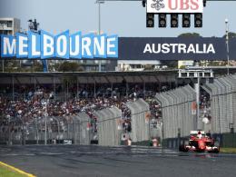 Auftakt am 26. März 2017 in Melbourne: Der Grand Prix von Australien.
