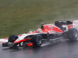Im Regen von Suzuka schwer verletzt: Marussia-Pilot Jules Bianchi.