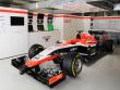 Blieb in Russland in der Garage: Der Marussia-Bolide von Jules Bianchi.