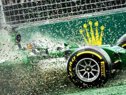 Der Weg in die Formel-1-Zukunft ist für Caterham mehr als steinig.