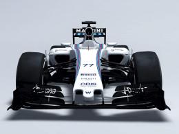 Am Computer gezeichnet: Der neue Williams FW37.