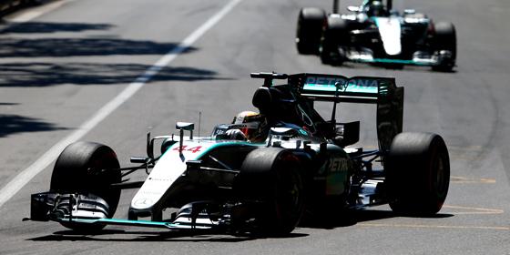 Tragische Figur: Lewis Hamilton dominierte in Monaco, am Ende stand nur Rang drei.