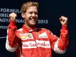 Strahlender Triumphator: Ferrari-Pilot Sebastian Vettel feierte in Ungarn seinen 41. Grand-Prix-Sieg.