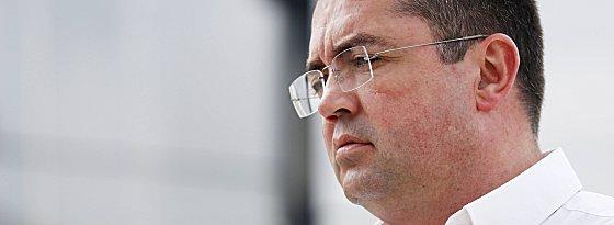 Musste erneut die Motoren seiner Boliden wechseln: McLaren-Technikdirektor Eric Boullier.
