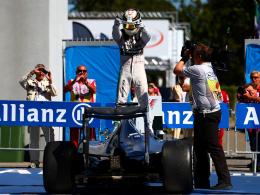 Fuhr in Monza seinen 40. GP-Sieg ein: Lewis Hamilton.